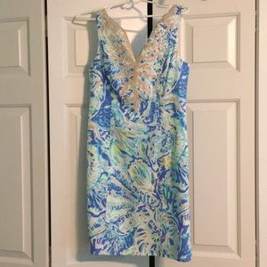 Lilly Pulitzer NWT Salty Seas Gabby Shift size 2